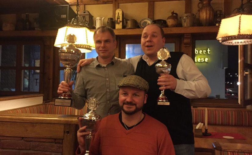 Siegerehrung MCK-Clubmeisterschaft 2016
